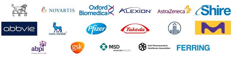 Pharma Comms Conference 27th November 2019 Speaker Logos