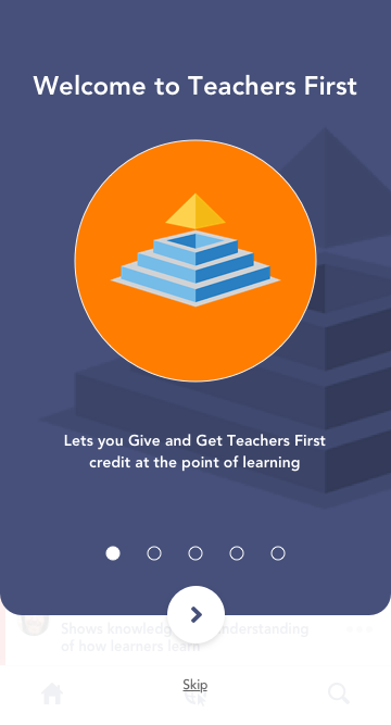 Lengo learning app welcome page onboarding