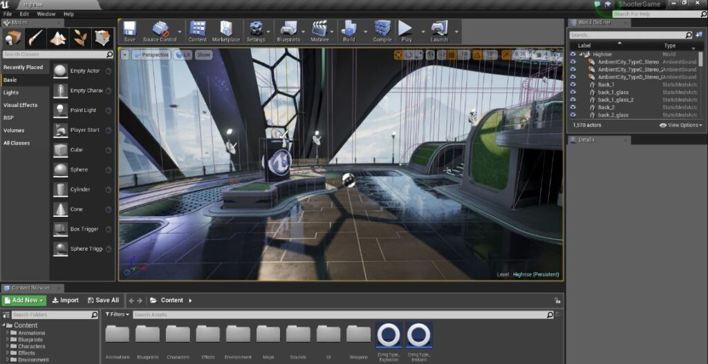 unreal engine user interface