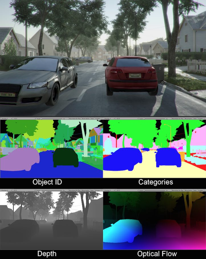 image of 2 cars in a street repeated in different colours and gradients