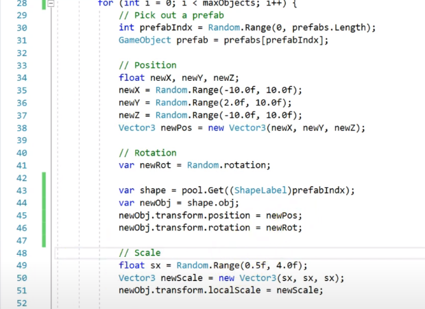 screenshot a coding page